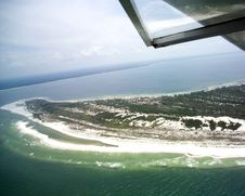 Saint Joseph Peninsula Of Cape San Blas Royalty Free Stock Photography