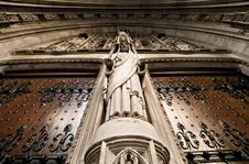 Free St Thomas Cathedral Doors Stock Photo - 1365770