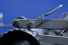 Free Carriage Release Lever Stock Image - 1365801