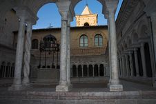 Free Abbazia Di Sassovivo. Royalty Free Stock Photos - 1366388