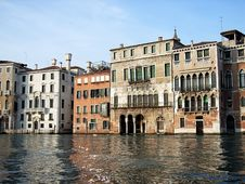 Free Venice Houses Stock Images - 1367134