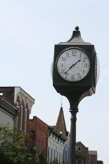 Free Clock Royalty Free Stock Photo - 1367375