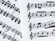 Free Musical_notes Royalty Free Stock Photos - 1368288