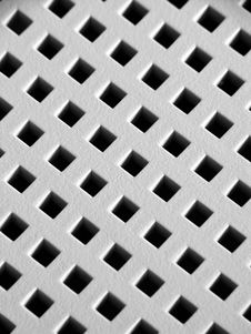 Free Surface With Holes Stock Photography - 1368332