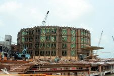 Free New Casino Under Construction In Macau Royalty Free Stock Image - 1368776