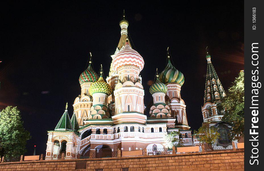 St.Basil Cathedral at Night 3