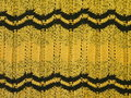 Free Yellow Knitting Texture Royalty Free Stock Images - 13601299