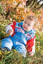 Free Little Boy In City Park Stock Photography - 13602152
