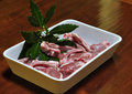 Free Lamb Chops With Bay Leaves Stock Photo - 13604080