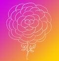 Free Rose Sketch Royalty Free Stock Photos - 13604948