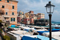 Free Italian Riviera Village Among The Boats Stock Image - 13606661