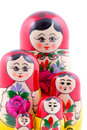 Free Group Of Russian Nesting Dolls Stock Photos - 13608783