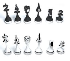 Free Chess Pieces Set Stock Photos - 13600203