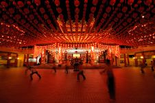 Free Traditional Chinese Temple Stock Photo - 13600610