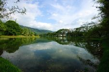 Beautiful Lake At Taiping Royalty Free Stock Image