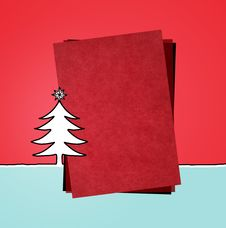 Free Red Paper & Xmas Stock Photography - 13600732