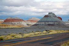 Free Painted Desert In Arizona Royalty Free Stock Photos - 13600848