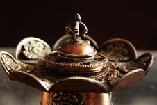 Free Incense Burner Royalty Free Stock Image - 13601136