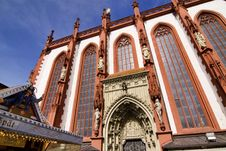 Free Marienkapelle (chapel) In Wuerzburg, Bavaria Stock Image - 13601461