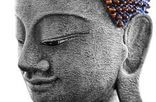 Free Decorative Antique Look Buddha Face Stock Images - 13601574