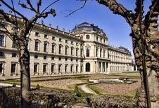 Free Residence, Wuerzburg, Bavaria Royalty Free Stock Image - 13601656