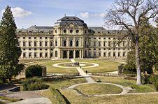 Free Residence, Wuerzburg, Bavaria Royalty Free Stock Photo - 13601765