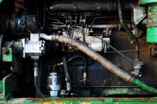 Free Vintage Car Engine. Royalty Free Stock Image - 13602716