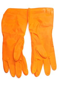 Free Rubber Gloves Royalty Free Stock Photos - 13603268