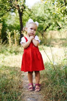 Free Little Girl Royalty Free Stock Photography - 13603467
