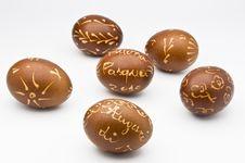 Free Decorated Eggs Stock Photo - 13603760