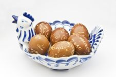 Free Decorated Eggs Stock Image - 13603781