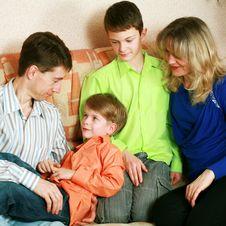 Free Happy Family Stock Photography - 13603782
