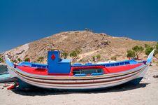 Free Fishing Boat Royalty Free Stock Image - 13603916