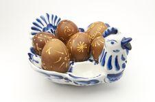 Free Decorated Eggs Stock Photo - 13603940