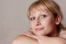 Free Head Shot Of Smiling Woman Royalty Free Stock Photo - 13604285