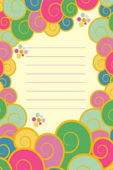 Free Birthday Invitation Card Royalty Free Stock Image - 13605416
