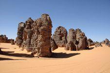 Free Libyan Desert Royalty Free Stock Photography - 13606357