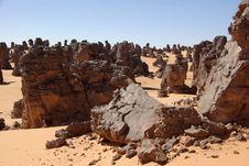 Free Rocks In Libya Royalty Free Stock Photography - 13606367