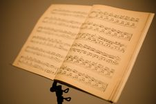 Free Music Stand Stock Photos - 13607453