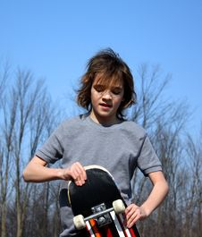 Free Skateboard Boy Stock Images - 13608654