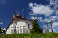 Free Orthodox Church Relating To The Sky Stock Photo - 13609500