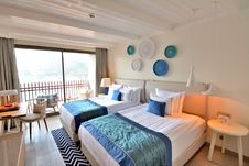 Free Room, Bedroom, Suite, Interior Design Royalty Free Stock Photo - 136081115