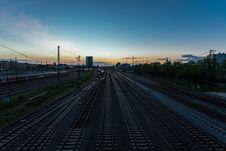 Free Track, Sky, Transport, Metropolitan Area Stock Images - 136081494