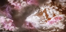 Free Sky, Cloud, Pink, Meteorological Phenomenon Stock Images - 136081664