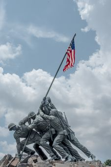 Free Flag, Sky, Monument, Flag Of The United States Stock Photography - 136081742