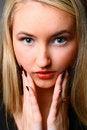Free Beautiful Stylish Blonde Royalty Free Stock Photo - 13612195