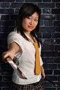 Free Beautiful Japan Girl Royalty Free Stock Photography - 13613037