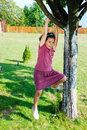 Free Girl Climbing Tree Royalty Free Stock Photography - 13619107