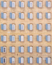 Free Thirty-six Windows On Vintage Building Stock Images - 13619834