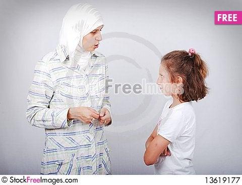 Free Muslim Teacher Royalty Free Stock Photography - 13619177